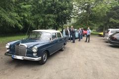 Oldtimerrotor Ausfahrt zum Treffen in Nordenham im Juni 2019