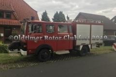 Heike und Reinhold kamen zünftig mit ihrem Einsatzfahrzeug...Klasse!