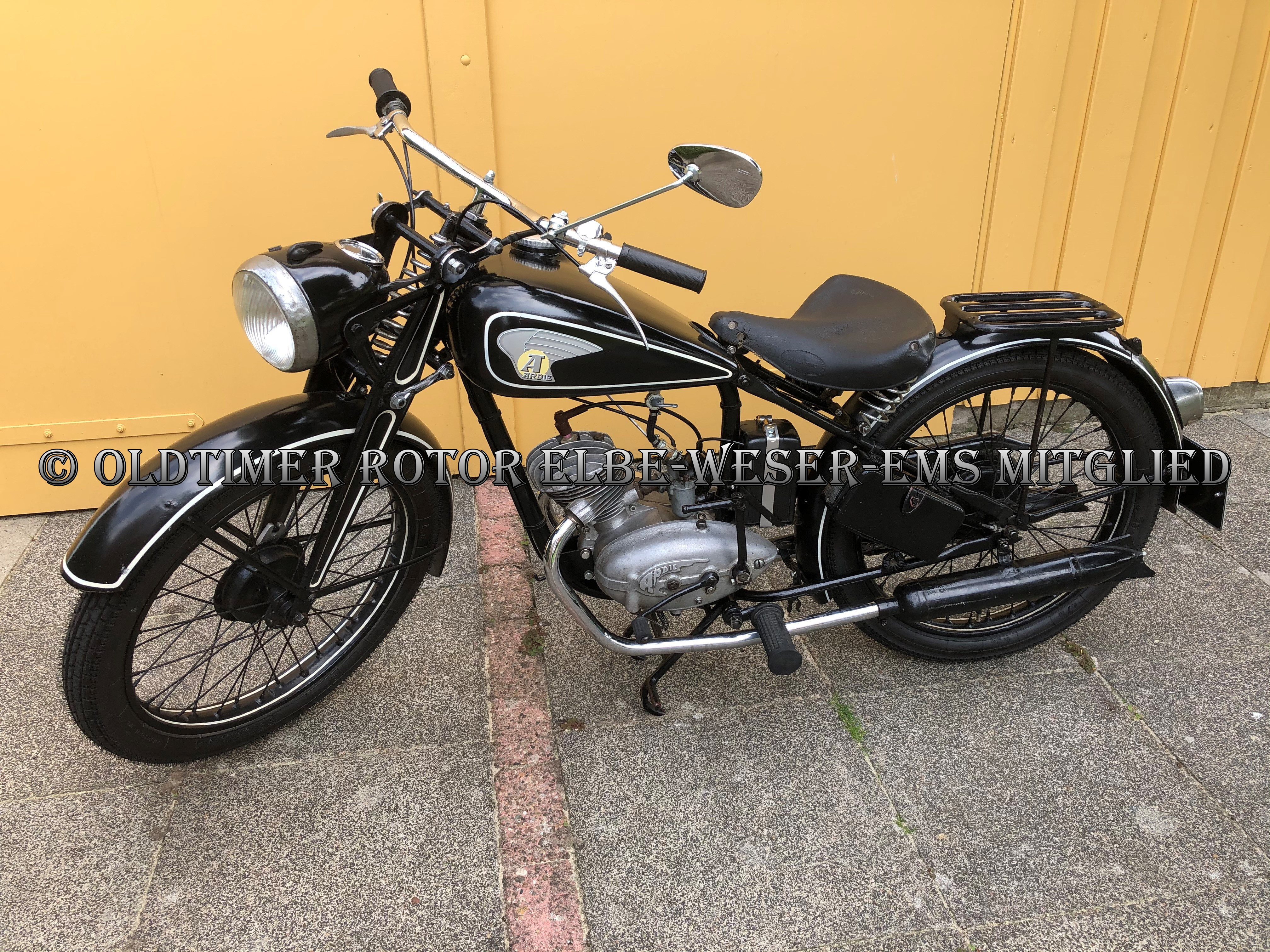 Ardie NE125 BJ 1947 von Reiner H