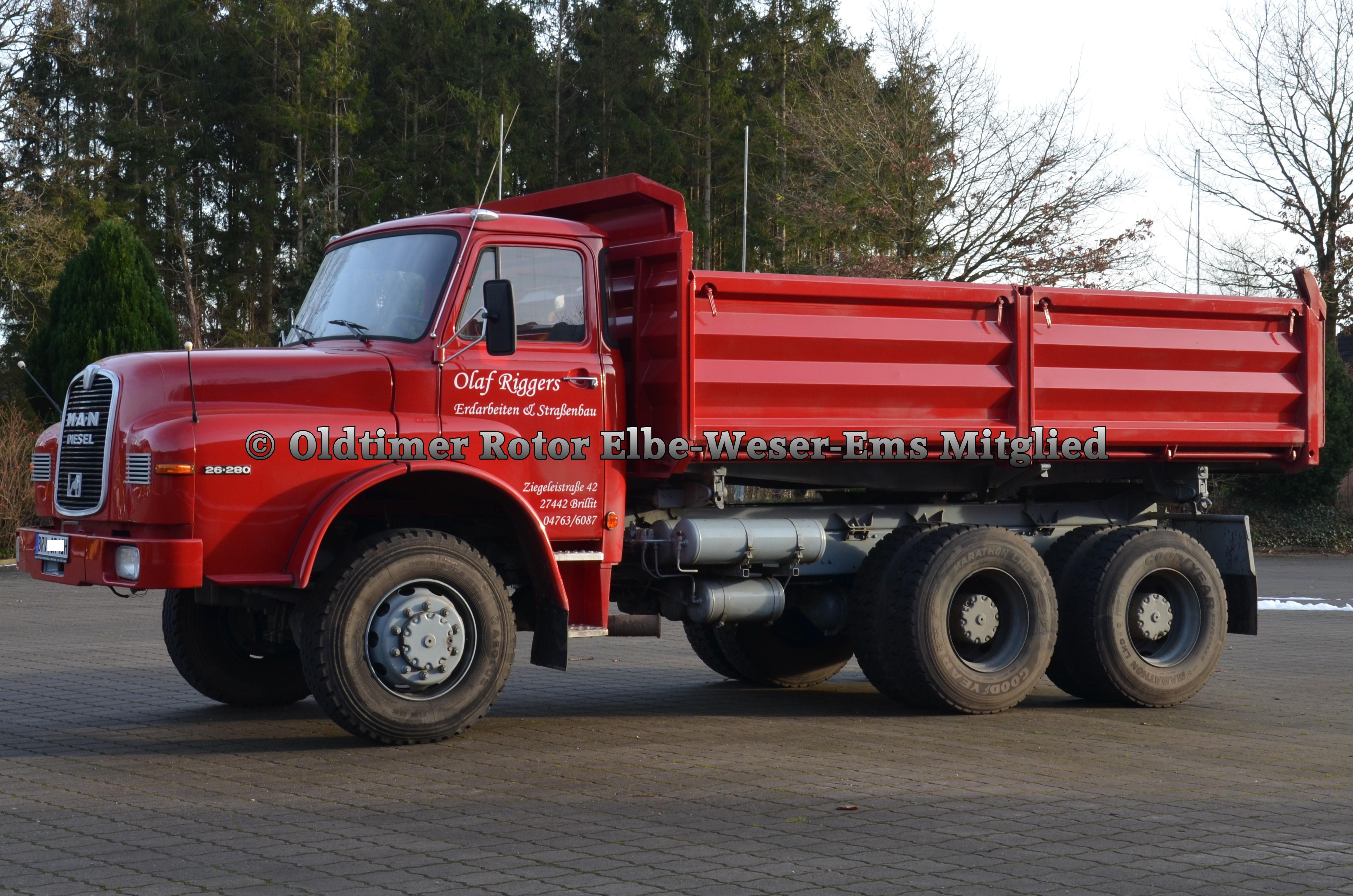 MAN 26280 BJ 1981 von Olaf R