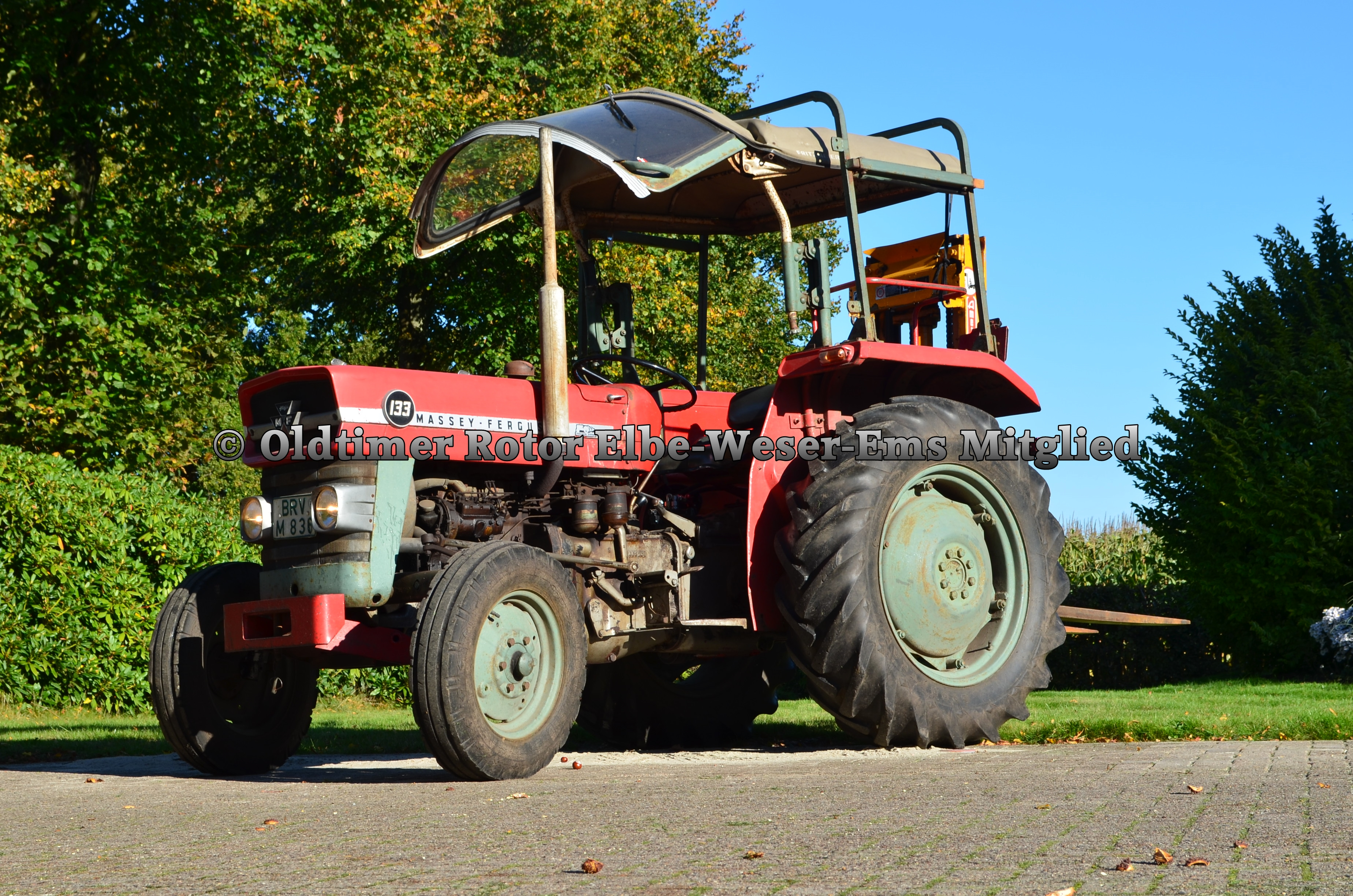 Massey MF133 BJ 1970 von Wilhelm T