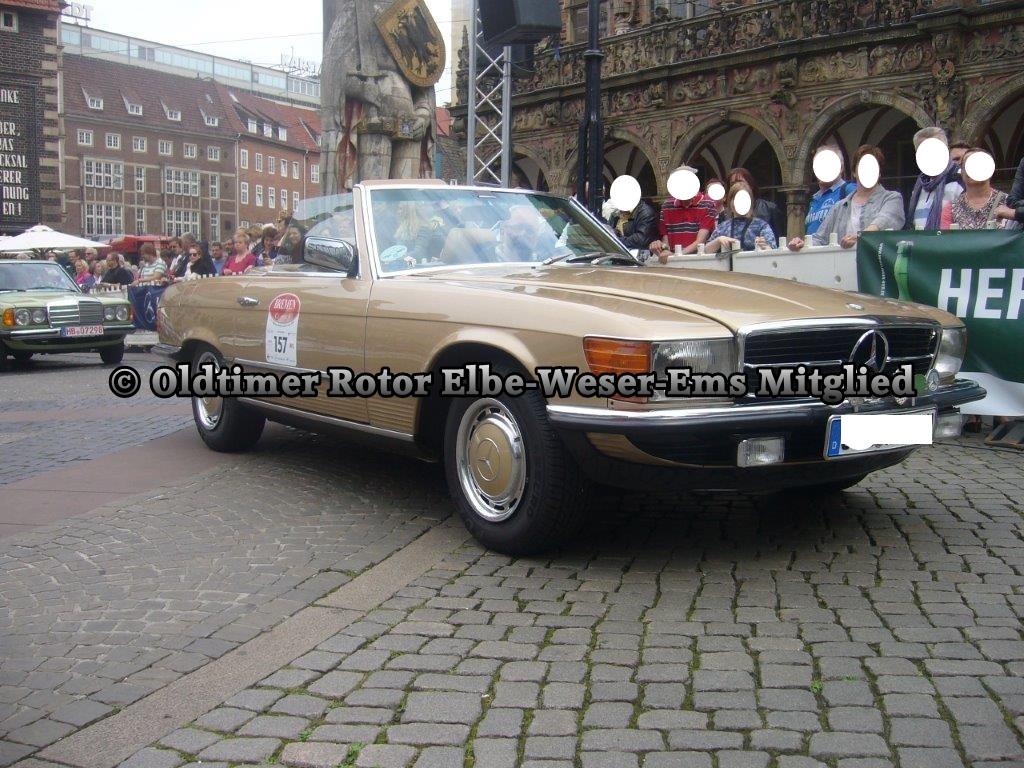 Mercedes 280 SL Cabrio BJ 1981 von Klaus P