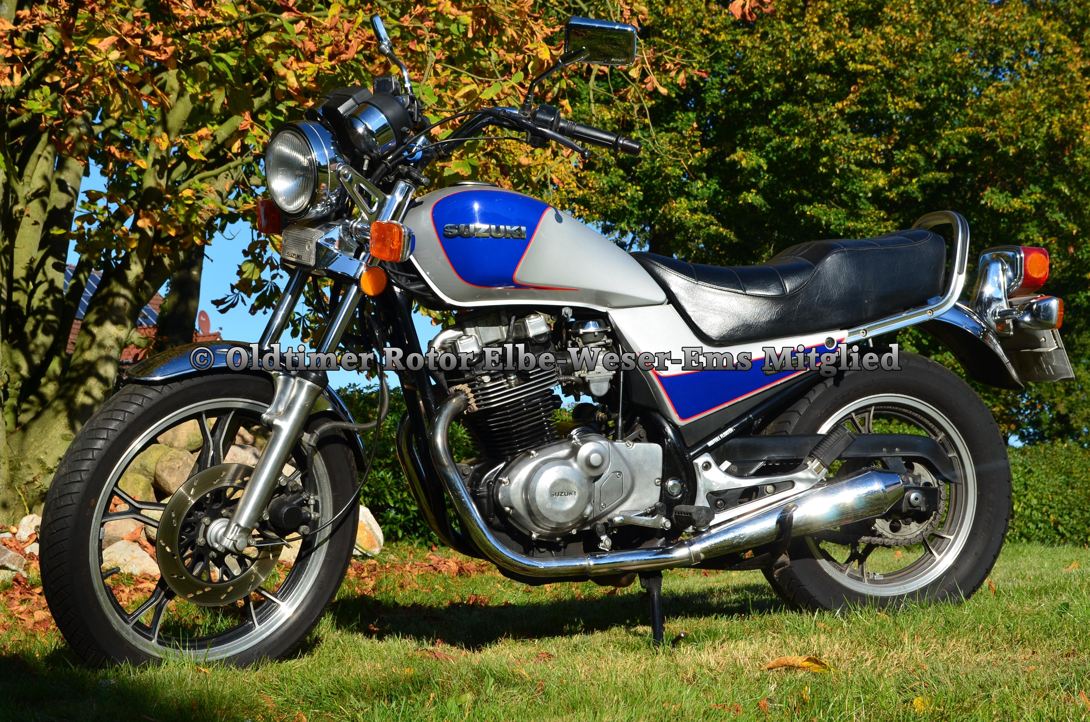 Suzuki GR650 BJ 1985 von Wilhelm T