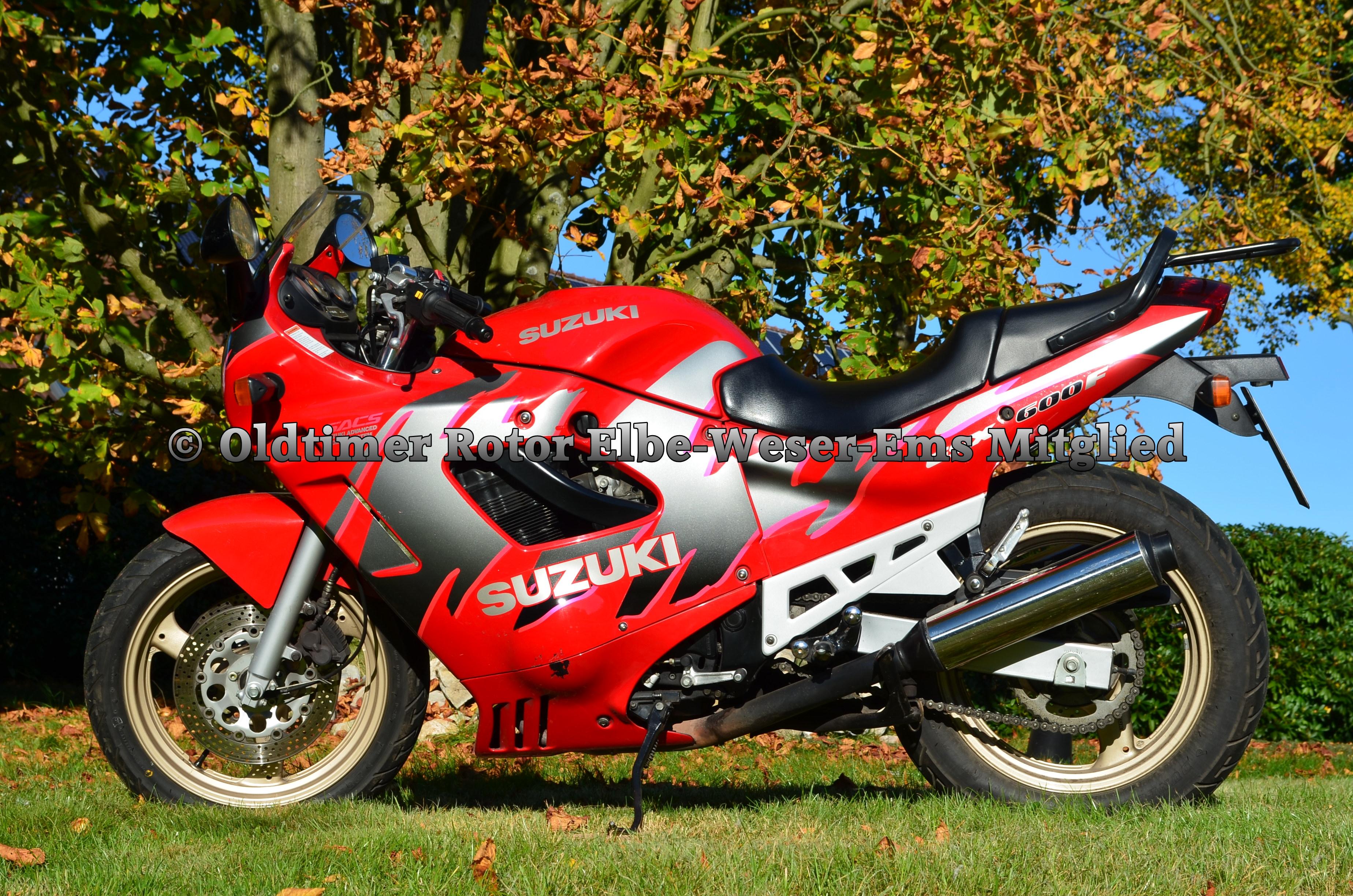 Suzuki GSX600F BJ 1992 von Wilhelm T