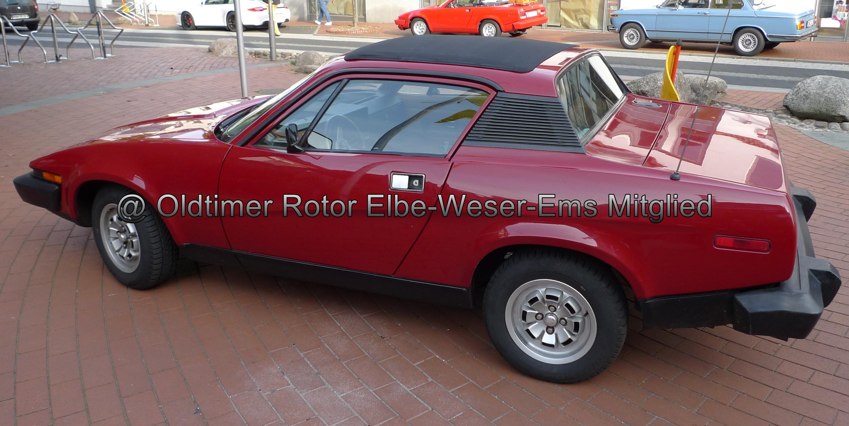 Triumph TR7 Coupe BJ 1975 Karl-Heinz L