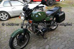 """BMW R80 800ccm """"Behördengrün"""" BJ 1987 von Reinhold C."""