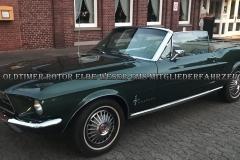 Ford Mustang V8 Cabrio BJ 1967 von Uli K.