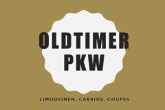 Oldtimer PKW  ab 30 Jahren