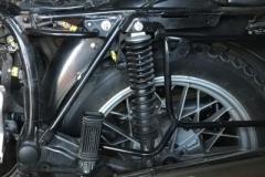 BMW R45 hinterer Bereich in gutem Zustand