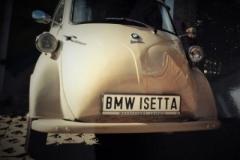 Isetta Nr 1 Unfallschaden beseitigt