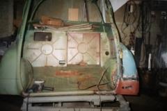 Isetta Nr 1 Kotflügel anpassen