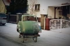 Isetta Nr 1 Abtransport zur Endmontage