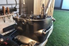 Verschraubung Getriebe Motor revidiert