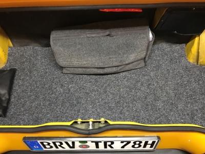 TR7 Coupe EU Version Baujahr 1979 Karosserie 2017 Einlegeboden