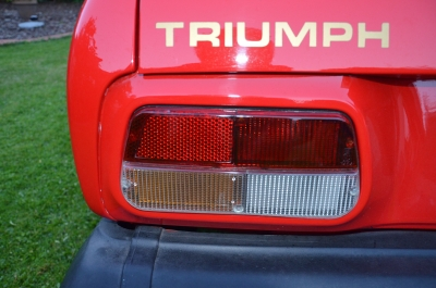 TR7 Cabrio US Version Baujahr 1979 Stand 2016