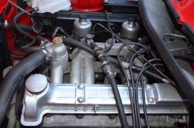 TR7 Cabrio Motor US Version, sehr empfindlich, wenn Gas- und Chokezug nicht Orginal geblieben sind