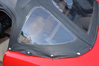 TR7 US Cabrio Cabrio, sehr empfindliche und dünne Pfalz zur Aufnahme des Verdecks