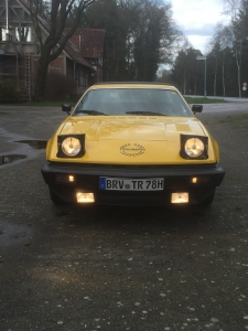 TR7 Coupe EU Version Baujahr 1979 umgemeldet  2016
