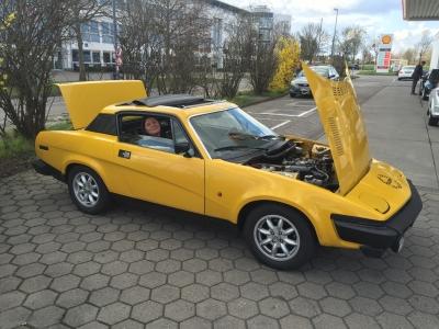 TR7 Coupe EU Version Baujahr 1979 Kauf 2016