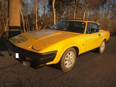 TR7 Coupe EU Version Baujahr 1979 lackiert abgeholt 2018