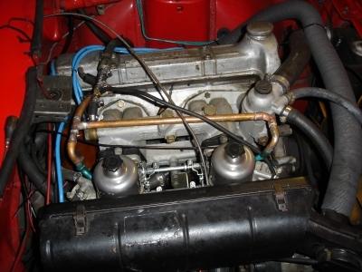 TR7 US Cabrio Gummi Ersatzleitung für Vacuum