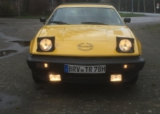 TR7 Coupe EU Version Baujahr 1979 umgemeldet  2016