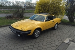 TR7 Coupe EU Version Baujahr 1979 Kauf 2016