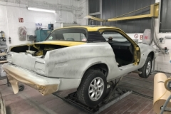 TR7 Coupe EU Version Baujahr 1979 Karosserie 2017 grundiert