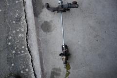 TR7 US Cabrio Wasserpumpe ausgebaut